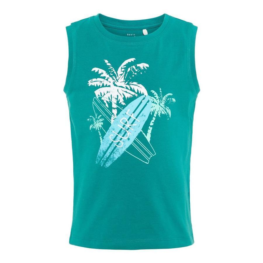name it T-Shirt Vux teal green