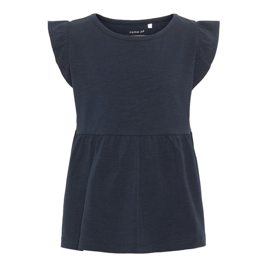 name it Girl s T-Shirt Halla saphir foncé