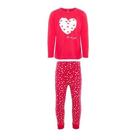 name it Girl pigiama s 2 pezzi Ramista rosa virtuale Ramista virtual pink