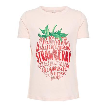 name it Girl s T-Shirt Sigrid crème à la fraise