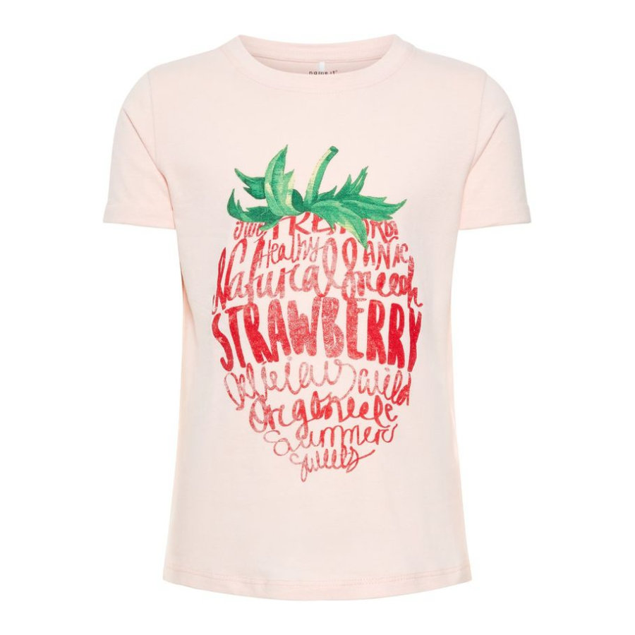 name it Girl s T-Shirt Sigrid aardbeiencrème s Sigrid