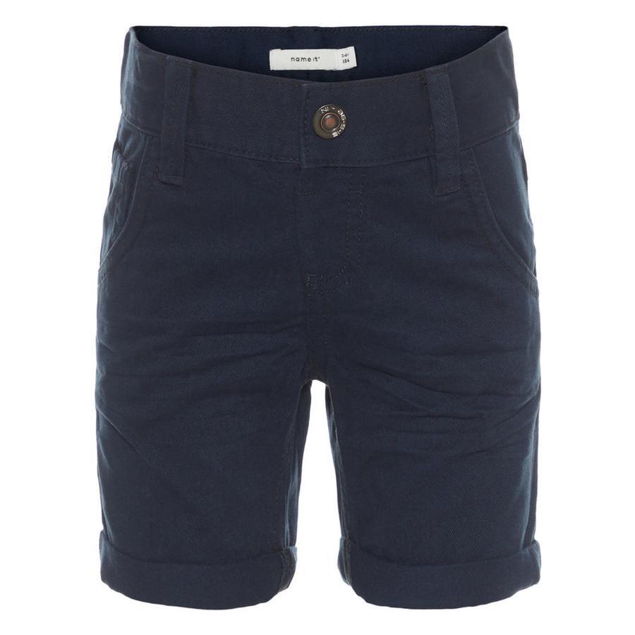 name it Boys Shorts Sofus zaffiro scuro zaffiro