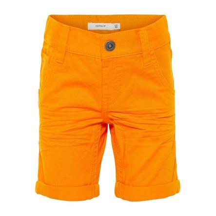 name it Boys Pantaloni Sofus fiamma arancione
