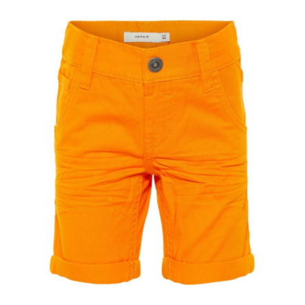 name it Boys Pants Sofus flamme oransje