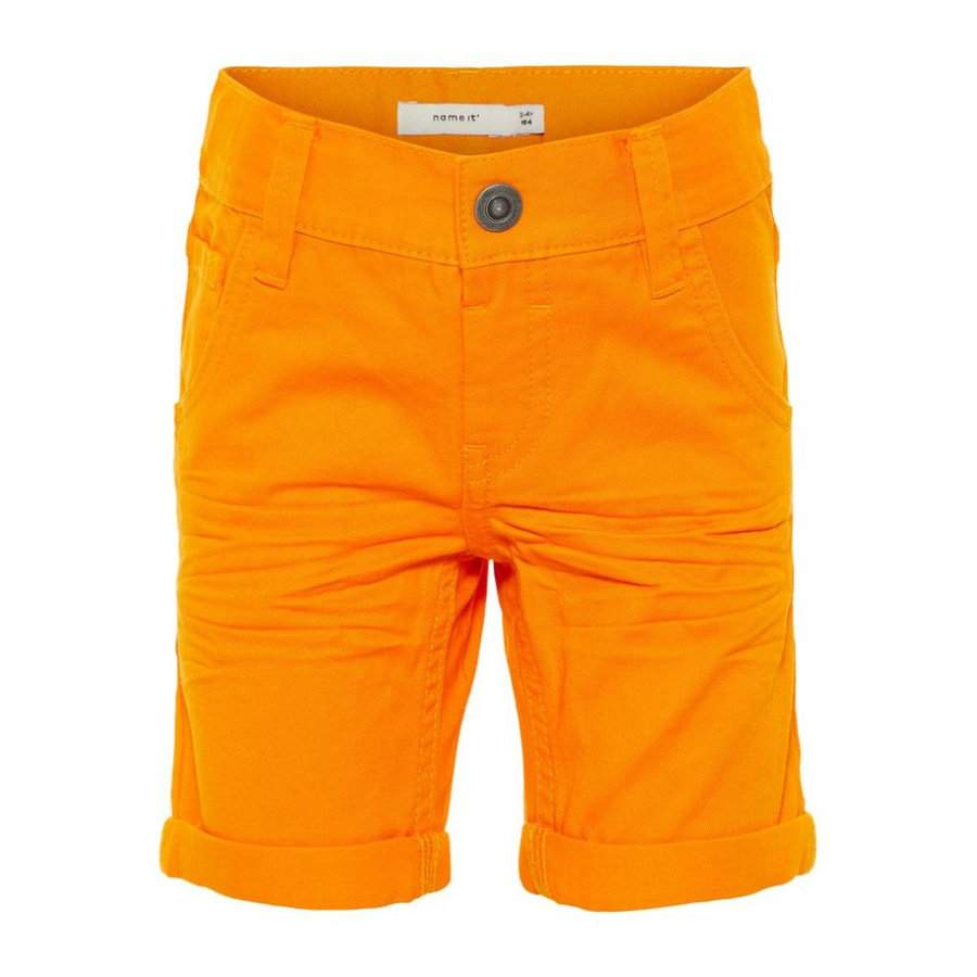 name it Boys Hose Sofus flame orange