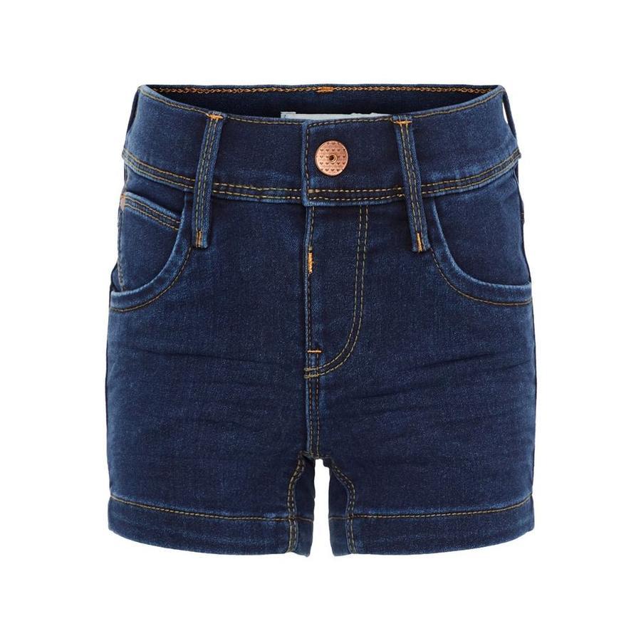 name it Girl s Jeans Shorts Salli jean bleu foncé