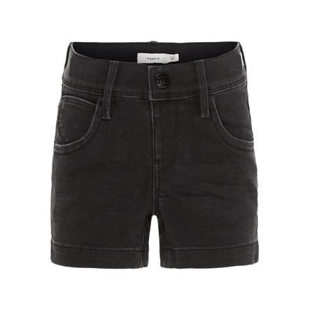 name it Girls Jeans Shorts Salli black denim