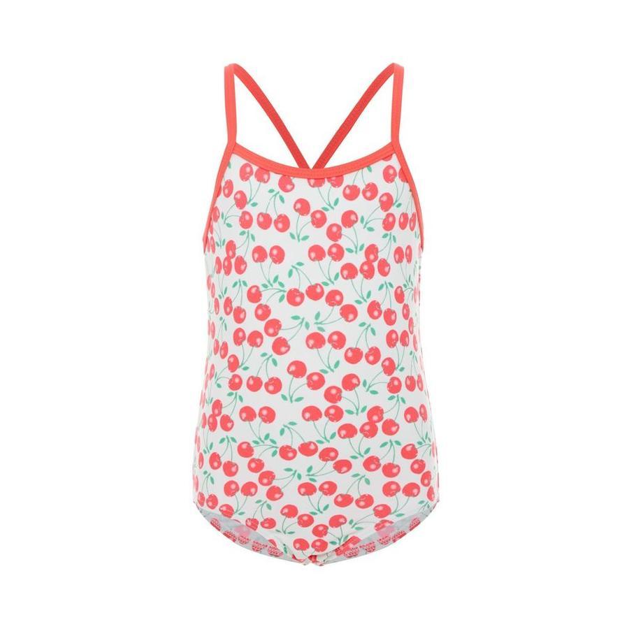 name it Girl S Swimsuit Zummeru jasnobiały strój kąpielowy.