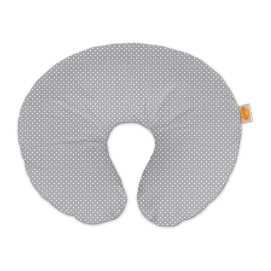 THERA LINE Wynnie Cojín de puntos de cobertura gris