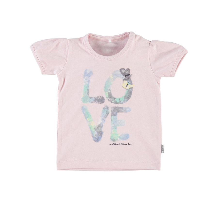 NAME IT Girls T-shirt bébé HILDUR, ballerine