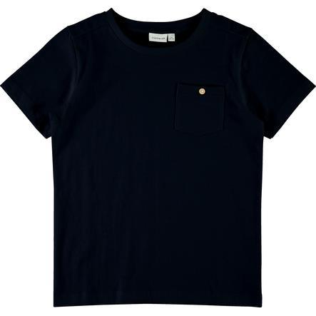 name it Boys T-Shirt Vebbe Saphir foncé