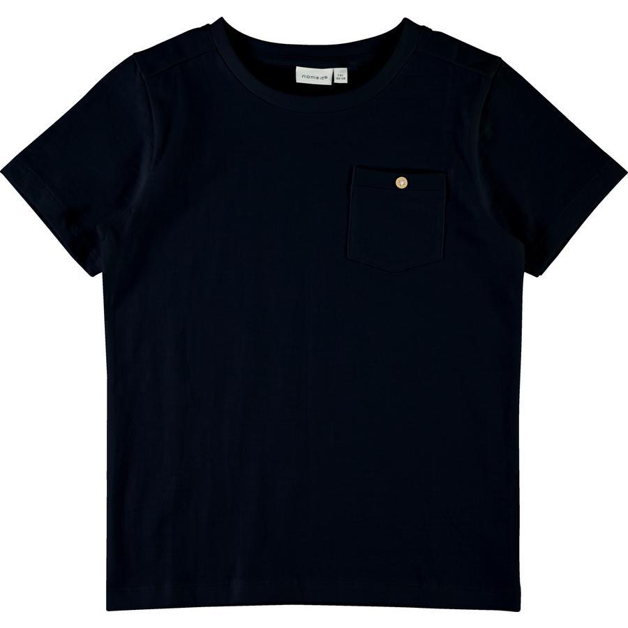 name it Boys T-Shirt Vebbe Dark Sapphire.