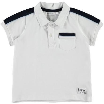 name it Boys Poloshirt Blanc Brillant