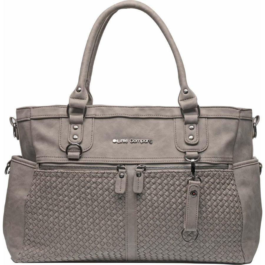 Little Company Wickeltasche Monaco Braided Taupe