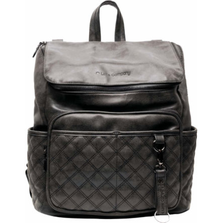Little Company Luiertas Rugzak Lisbon Quilted Black