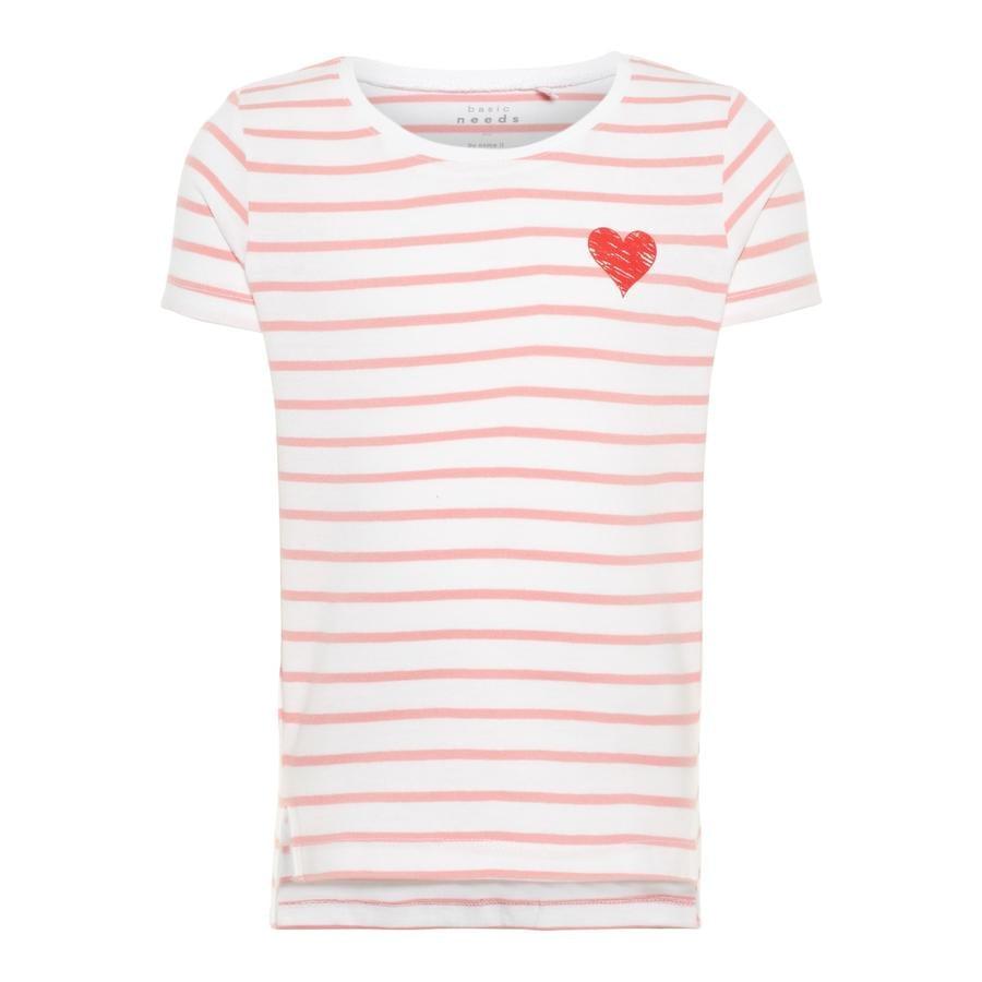 name it Girls T-Shirt Via geranium pink
