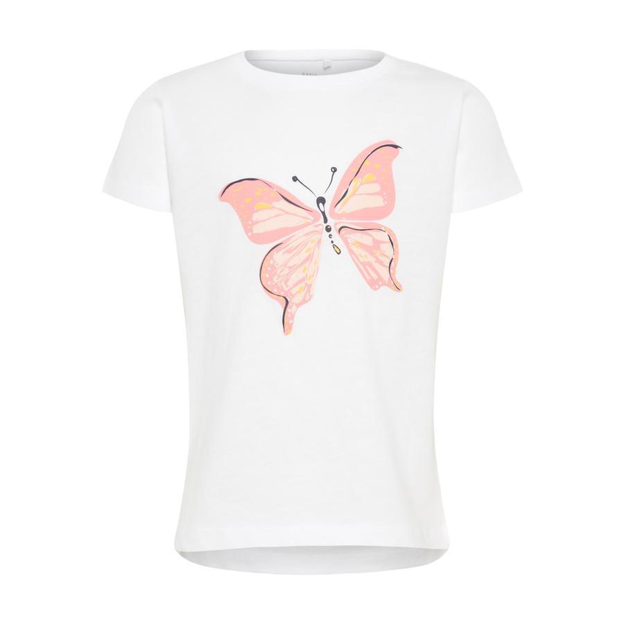 name it Girl s T-Shirt Via blanco brillante
