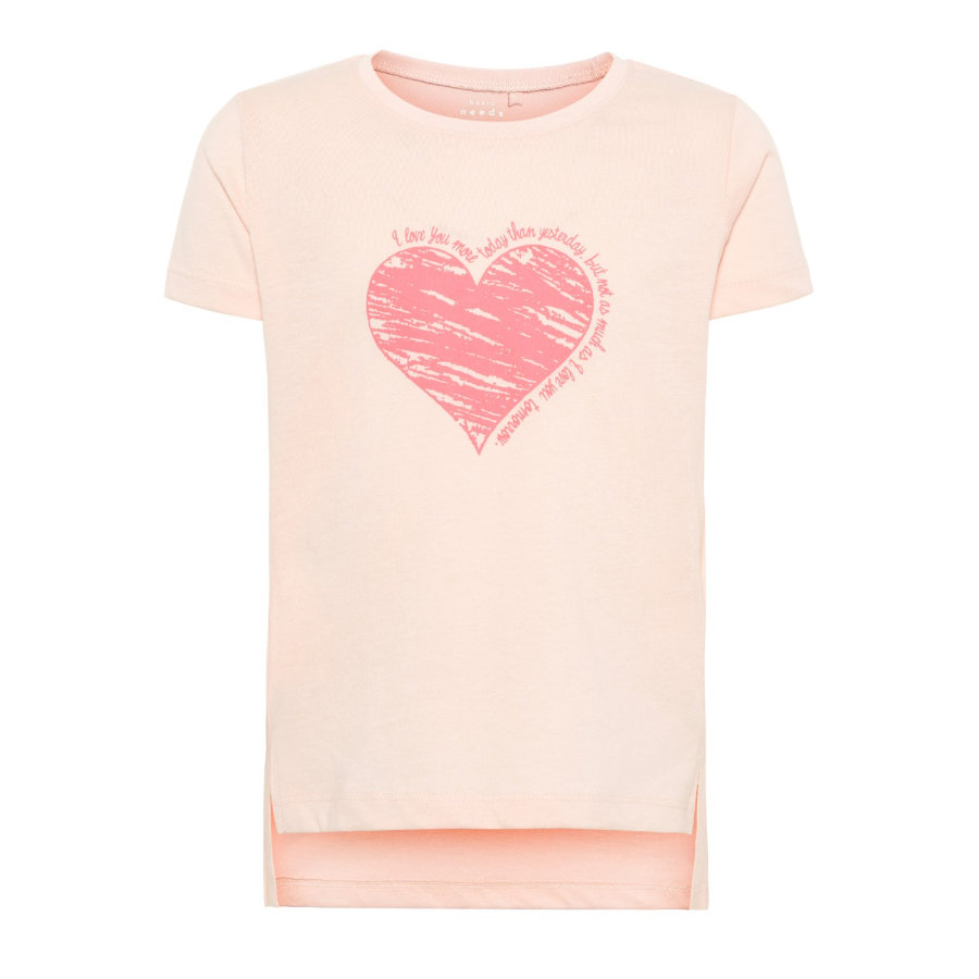 name it Girl s T-Shirt Via strawberry cream
