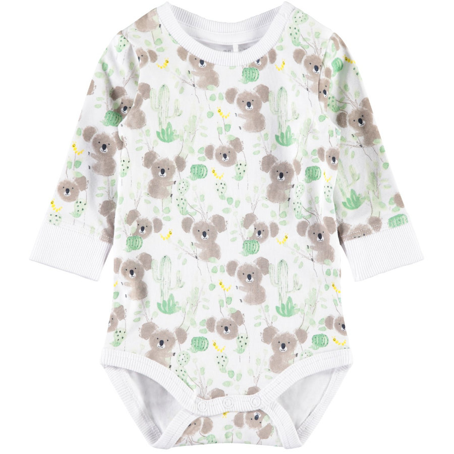name it Body enfant manches longues Nbfhulla bright white