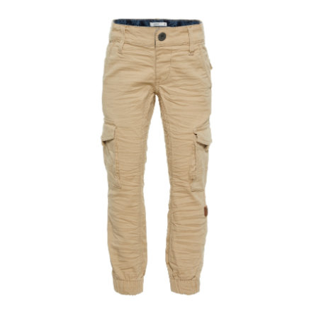 name it Boys Pantalon Romeo poivre blanc