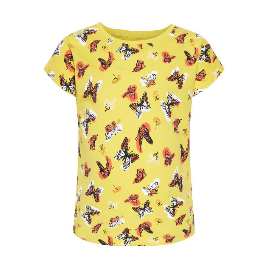 name it Gilrs T-Shirt Vigga primerose giallo