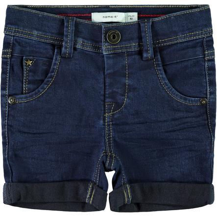name it Boys Jeans Shorts mørkeblå denim