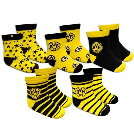 Chaussettes BVB pour tout-petits (paquet de 5) jusqu'à la taille 24