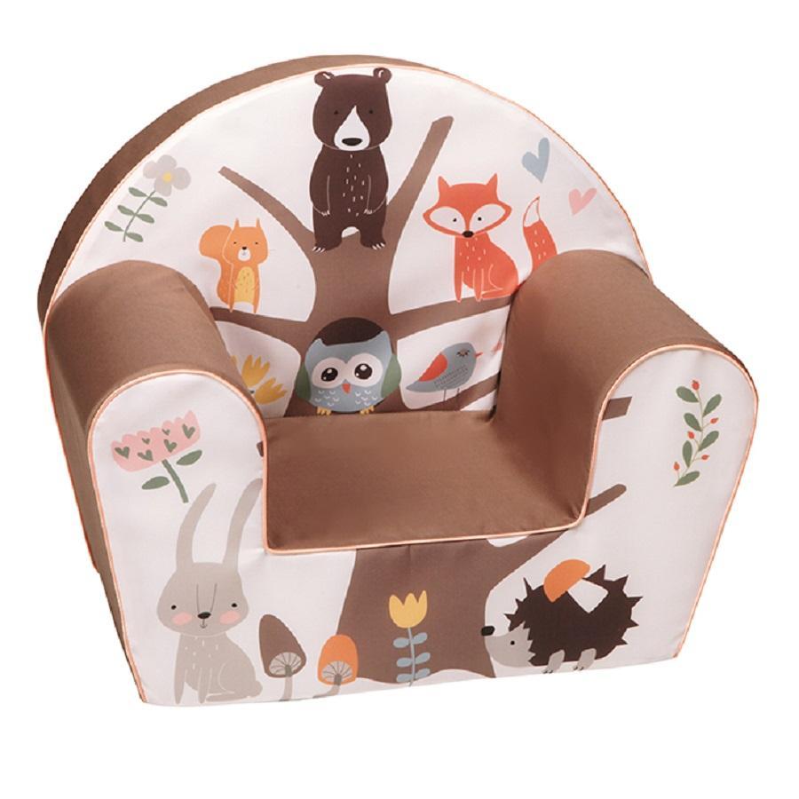 knorr® toys Fauteuil enfant - Forest brun 51 cm