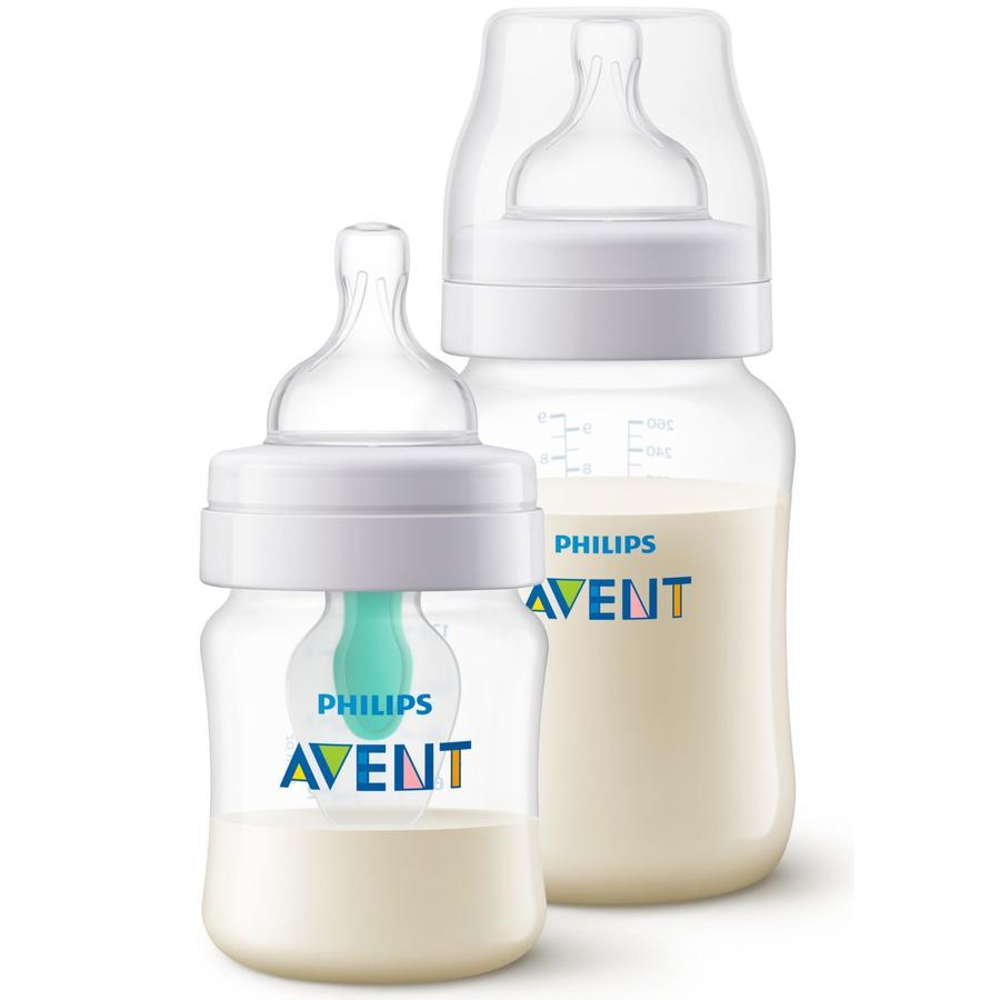 Philips AVENT SCD809/01 Biberon anti-colica 125 ml +260 ml dalla nascita