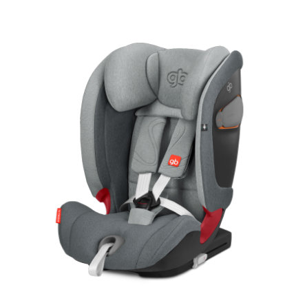 gb GOLD Kindersitz Everna-Fix London Grey