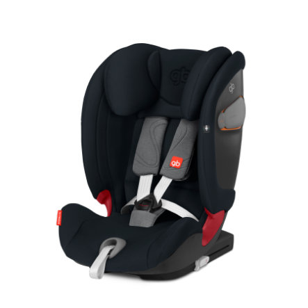 gb GOLD Kindersitz Everna-Fix Velvet Black