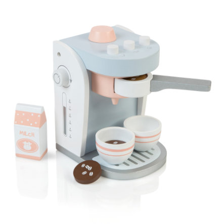 MUSTERKIND® Kaffemaskine Olea, hvid / grå / blå