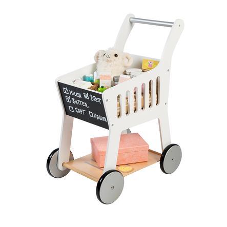 MUSTERKIND® Einkaufswagen Rubus, weiß