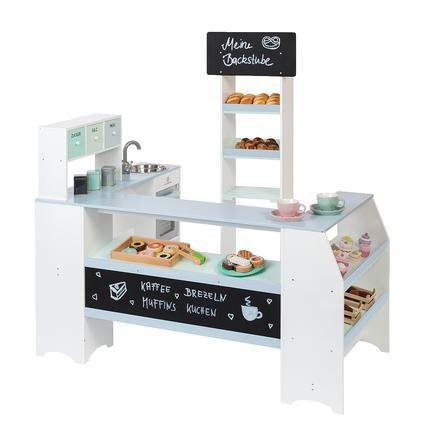 MUSTERKIND® Kaufladen Bäcker und Konditor Grano, weiß/graublau