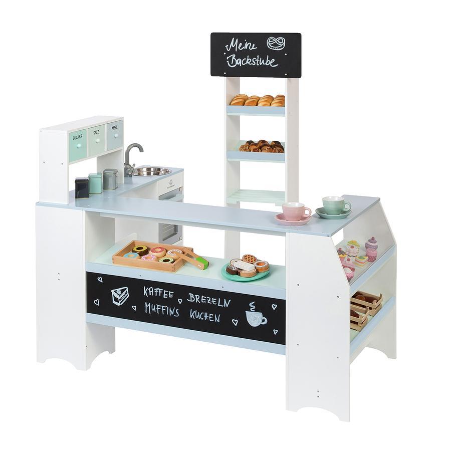 MUSTERKIND® Leikkikauppa leipomo Grano, valkoinen/harmaansininen