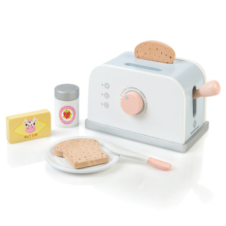 MUSTERKIND® Toaster-Sæt Olea, hvid /grå / blå