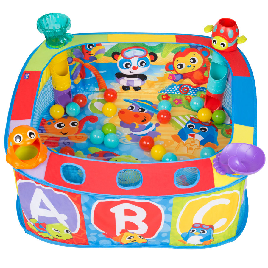 playgro Pop Up Baño de Bolas para Bebés