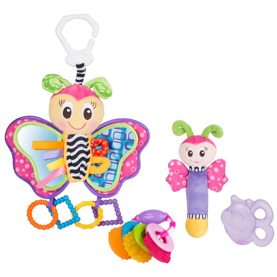 playgro Spiel- und Beißring-Geschenkset Schmetterling