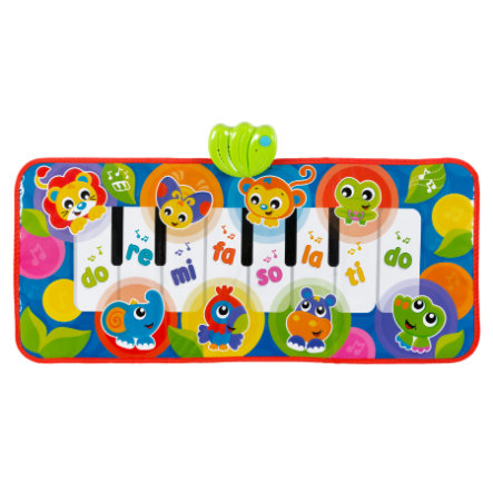 playgro  Jumbo Jungle Piano mat con sonidos de animales
