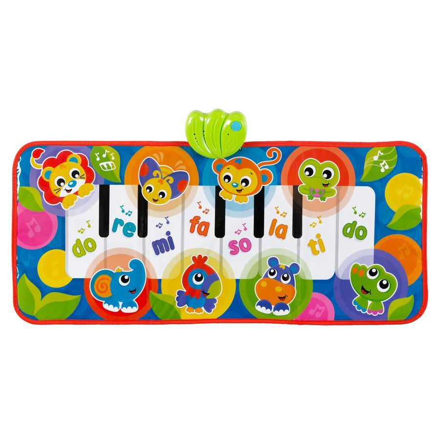 playgro  Jumbo Jungle Piano mat met dierengeluiden