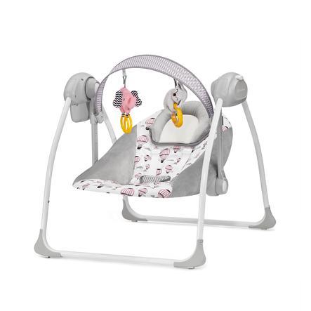 Kinderkraft Transat bébé Flo rose