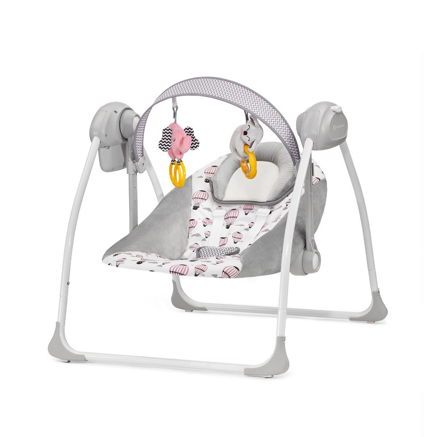 Kinderkraft Babywippe Flo Pink