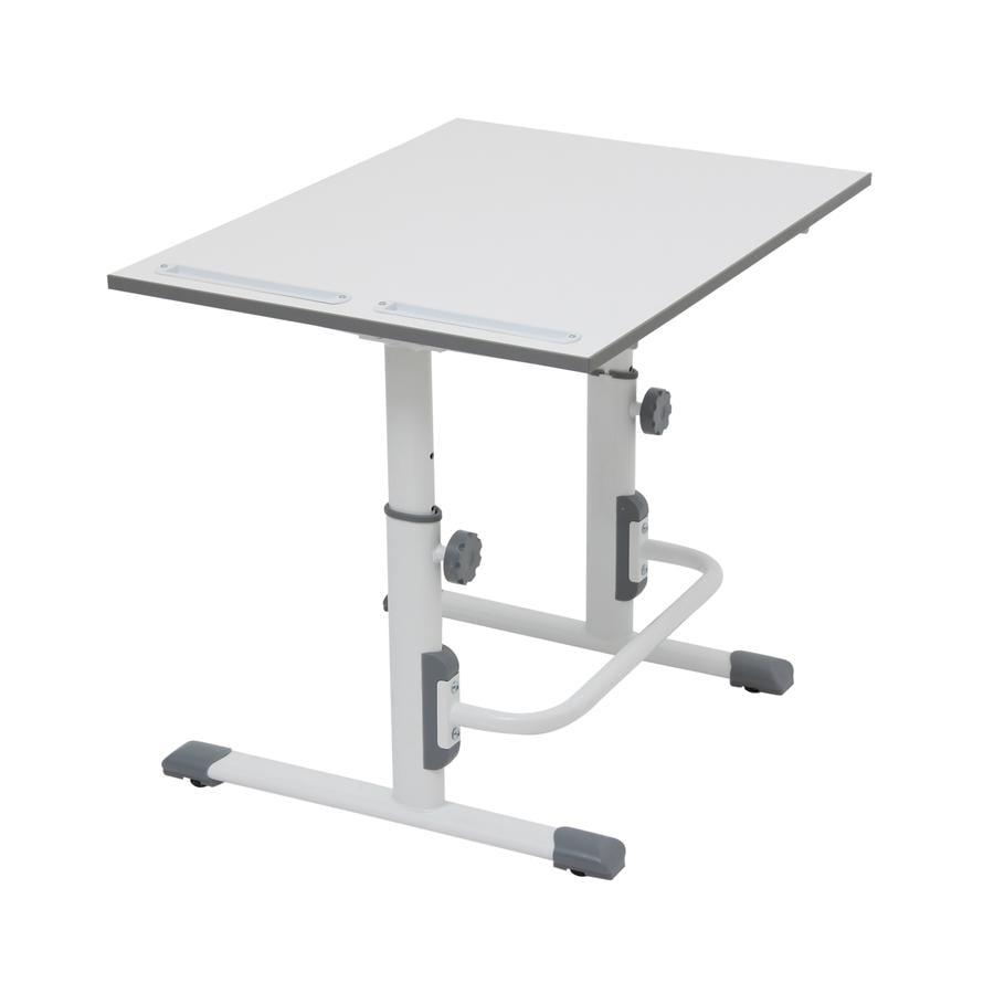 POLINI Kids desk Simple M1 white-grey