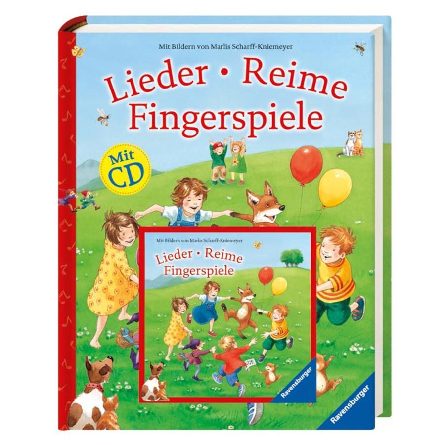 RAVENSBURGER - Lieder, Reime, Fingerspiele (mit CD)