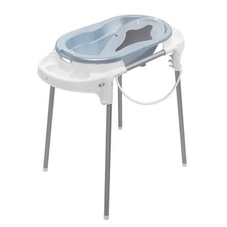 Rotho Babydesign Badestation TOP babybleu perl 4-teilig