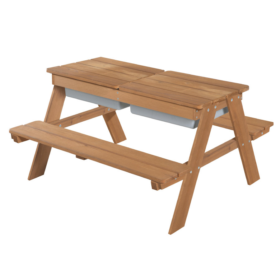 roba Table et banc pique-nique pour 4, bois brun