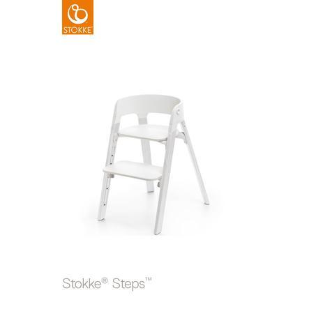 STOKKE® Steps™ Hochstuhl weiß Eiche white