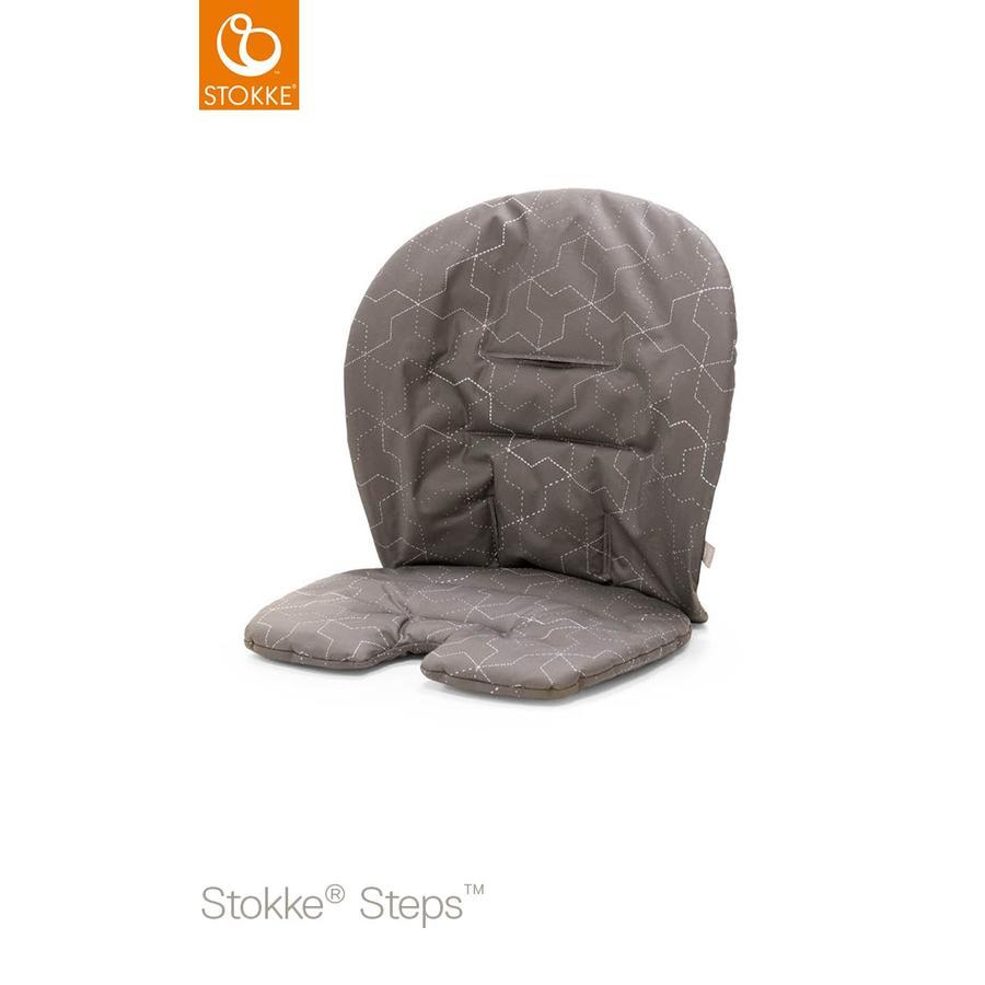 STOKKE® Steps™ Baby Set Sitzkissen Geometric Grey