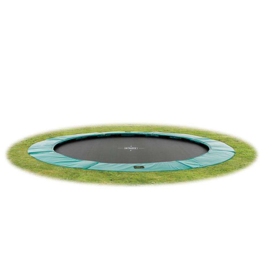 EXIT - Inground Trampolina Supreme GroundLevel 305 (10ft) zielony + siatka bezpieczeństwa