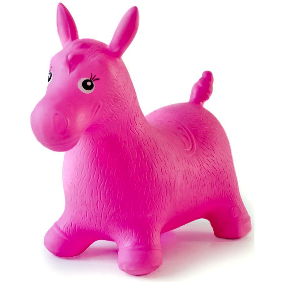 babyGO Cavallino saltellante, rosa